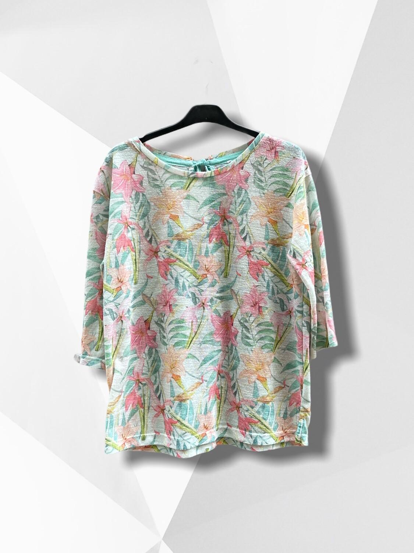 *NEW* Camiseta de media manga con lacito en la nuca