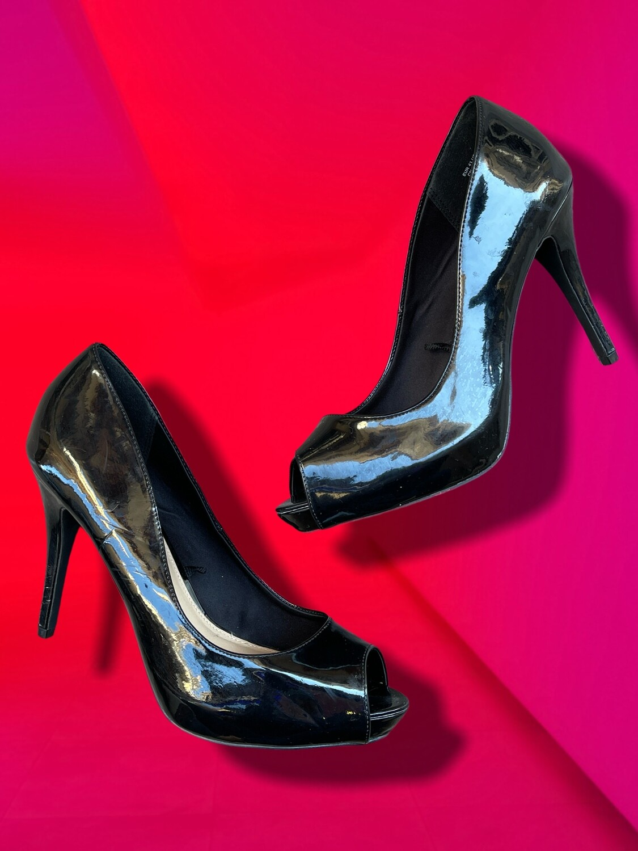 Peep toes acharolados H&M T41