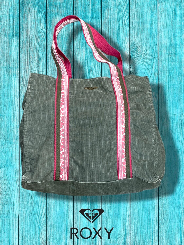 Bolso de tela tipo shopping bag ROXY