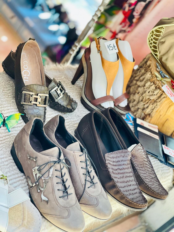 """Zapatillas de piel de hombre """"LUIS ONOFRE"""" (NUEVOS) T41 y T42"""