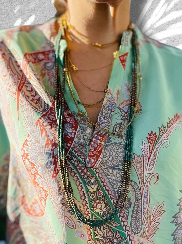 *NEW* Collar veraniego de mostacillas