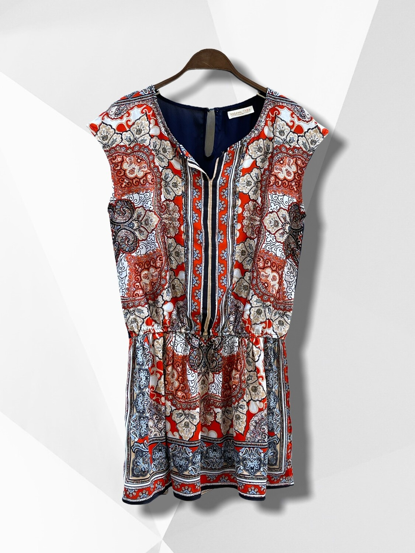Blusa tipo túnica sin mangas / vestido