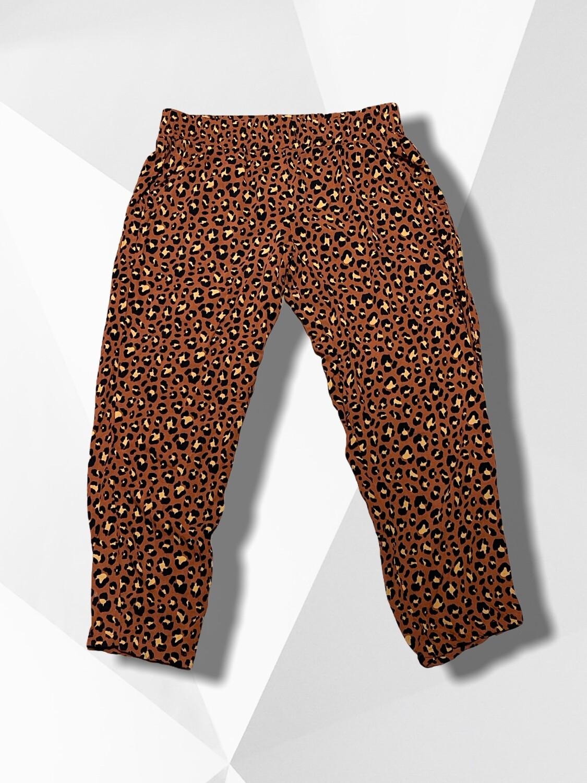 Pantalón sueltito de leopardo T38