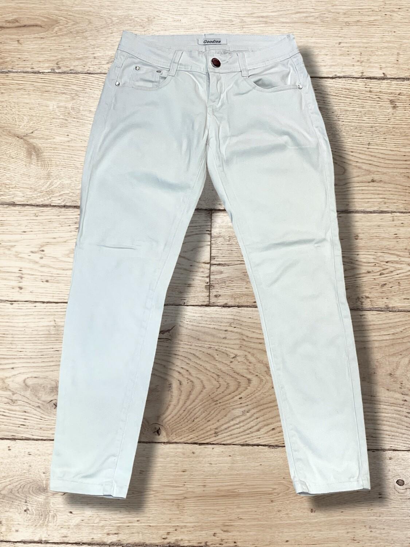*COMBI 5* Pantalón vaquero blanco T36