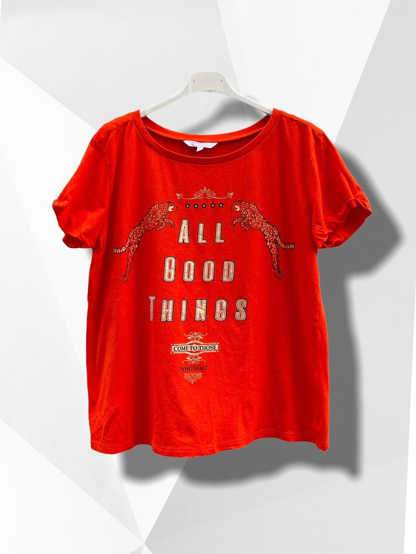 Camiseta de algodón ALL GOOD THINGS