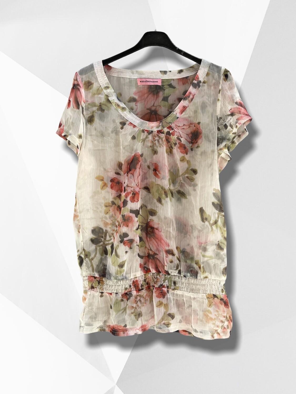 **NEW** Blusa traslucida de flores