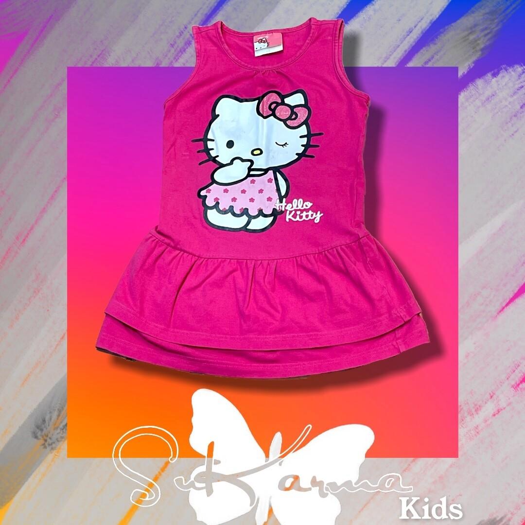 Vestido HELLO KITTY de niña Talla 5/6 años