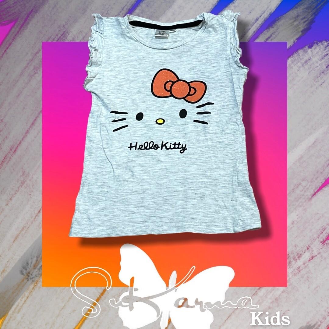 Camiseta HELLO KITTY de niña Talla 7 años