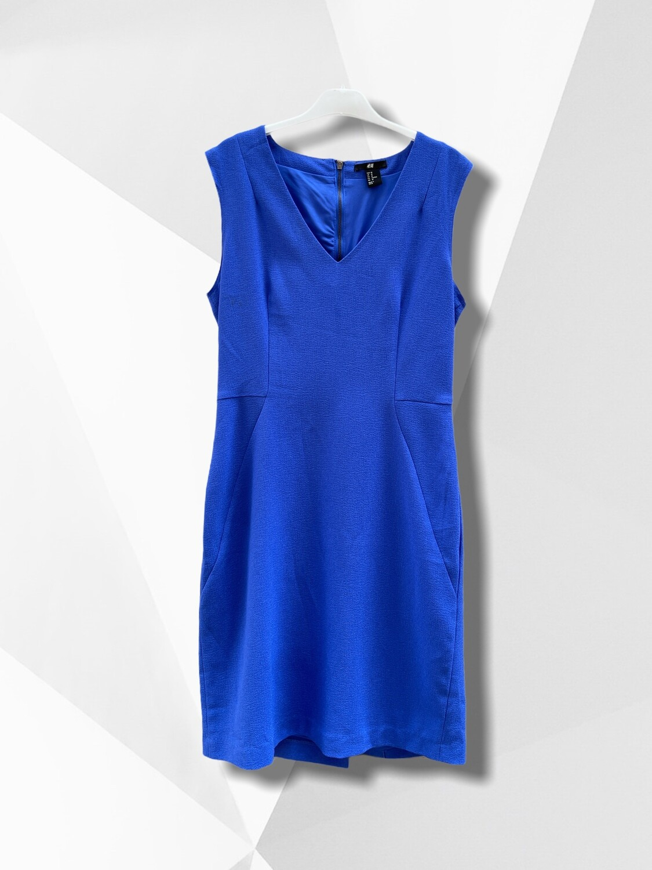 **COMBI 5** Vestido formal azul klein