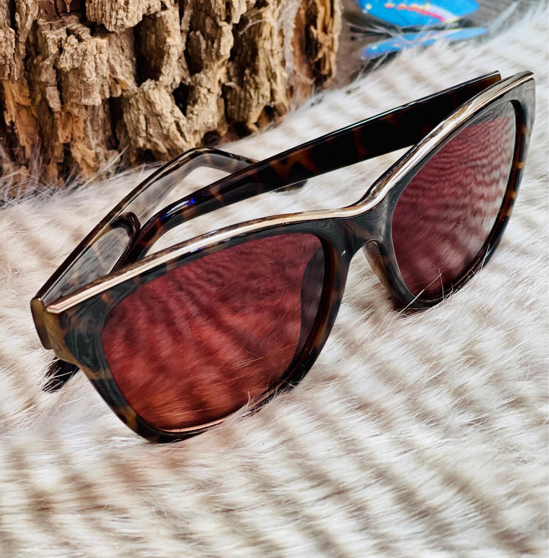 Gafas de sol efecto carey