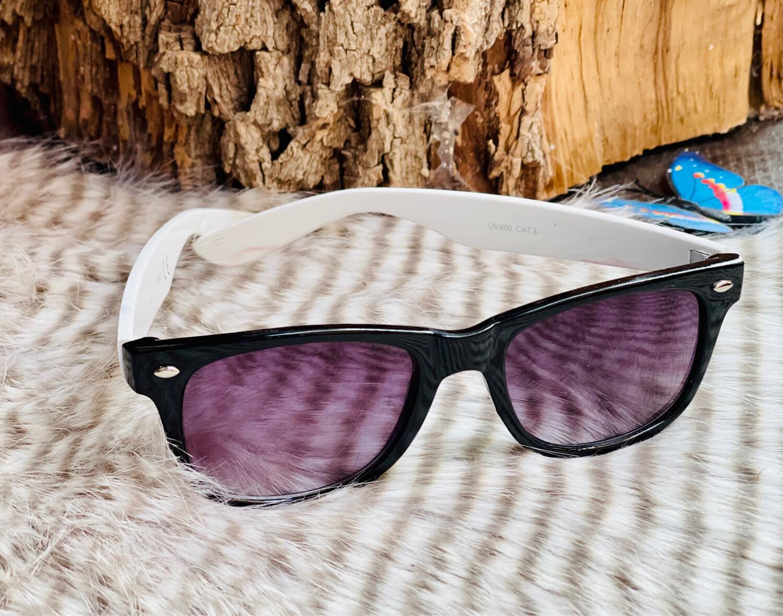 Gafas de sol modelo wayfarer B&W
