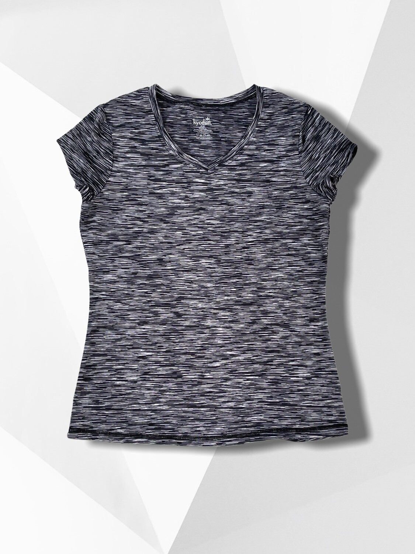 Camiseta deportiva jaspeada KYODAN