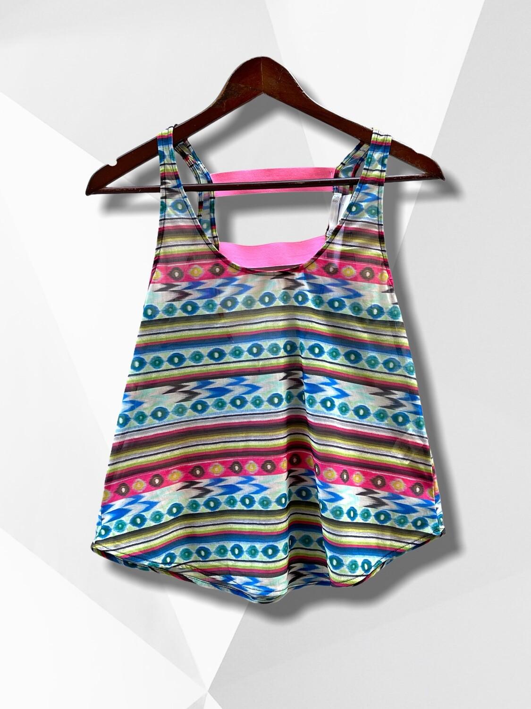 *NEW* Top veraniego de colorines con elásticos en la espalda