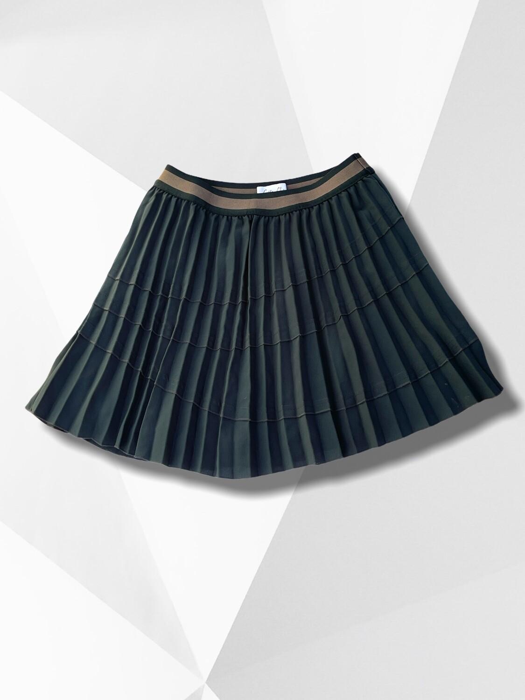 *COMBI 4* Falda a la cintura plisada