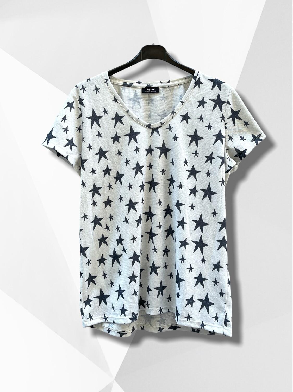 Camiseta de manga corta de estrellas (TG)