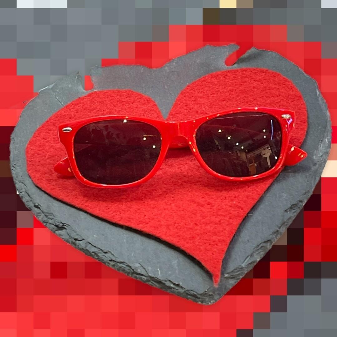 *NEW* Gafas de sol modelo wayfarer rojas