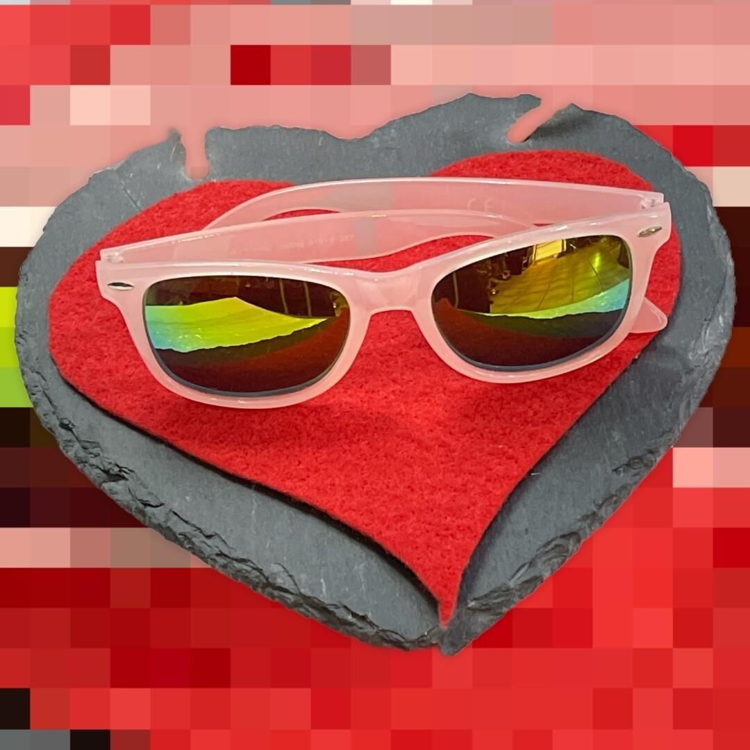 **HOY** Gafas de sol modelo wayfarer espejadas