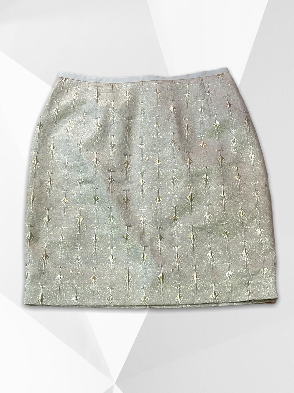 *DÚO 6* Falda de brocado dorado T36