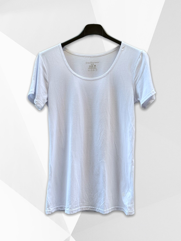 Camiseta de algodón básica