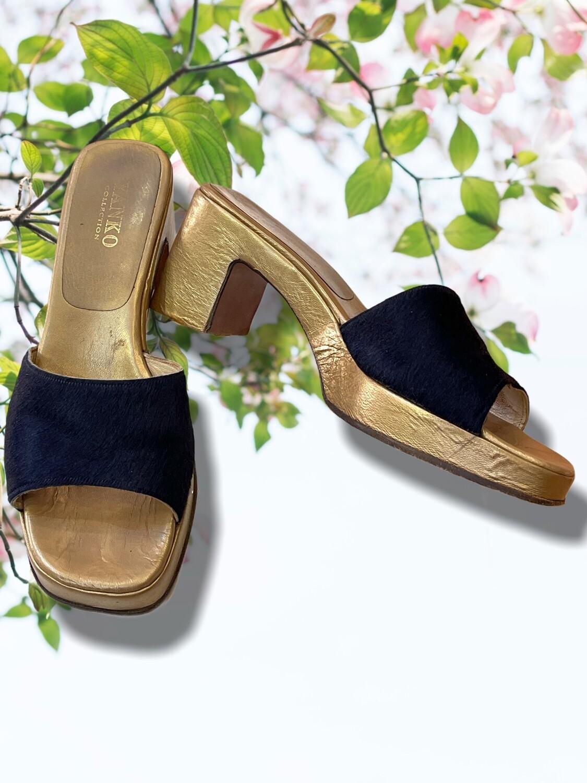 *NEW* Sandalias de piel YANKO T36-37