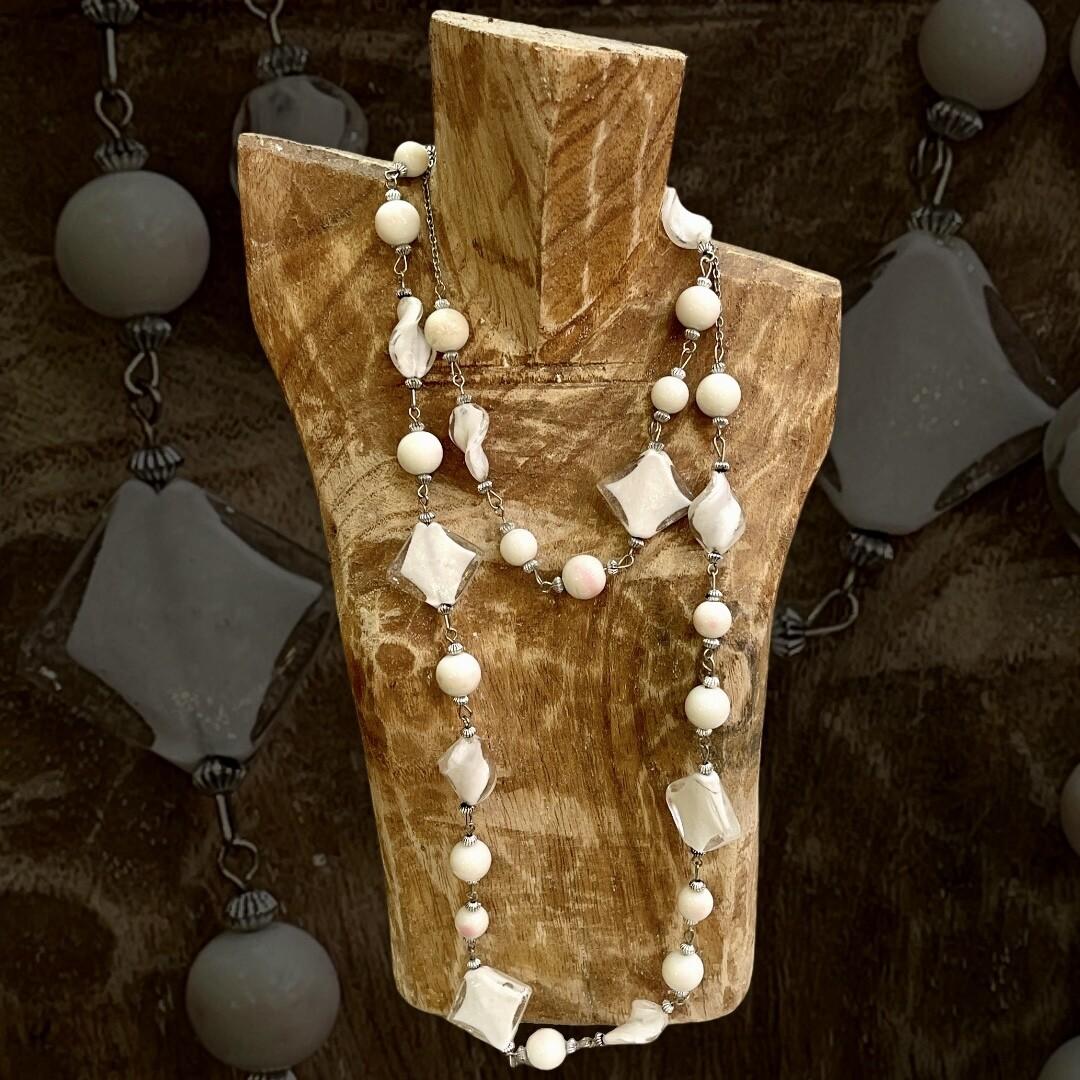 *HOY* Collar largo de cristalitos