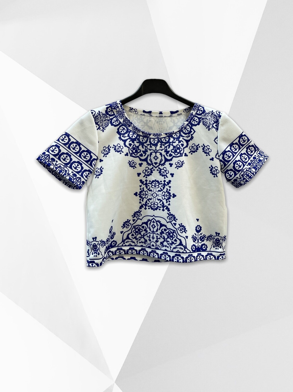 "*NEW* Camiseta tipo crop top ""OPORTO"""