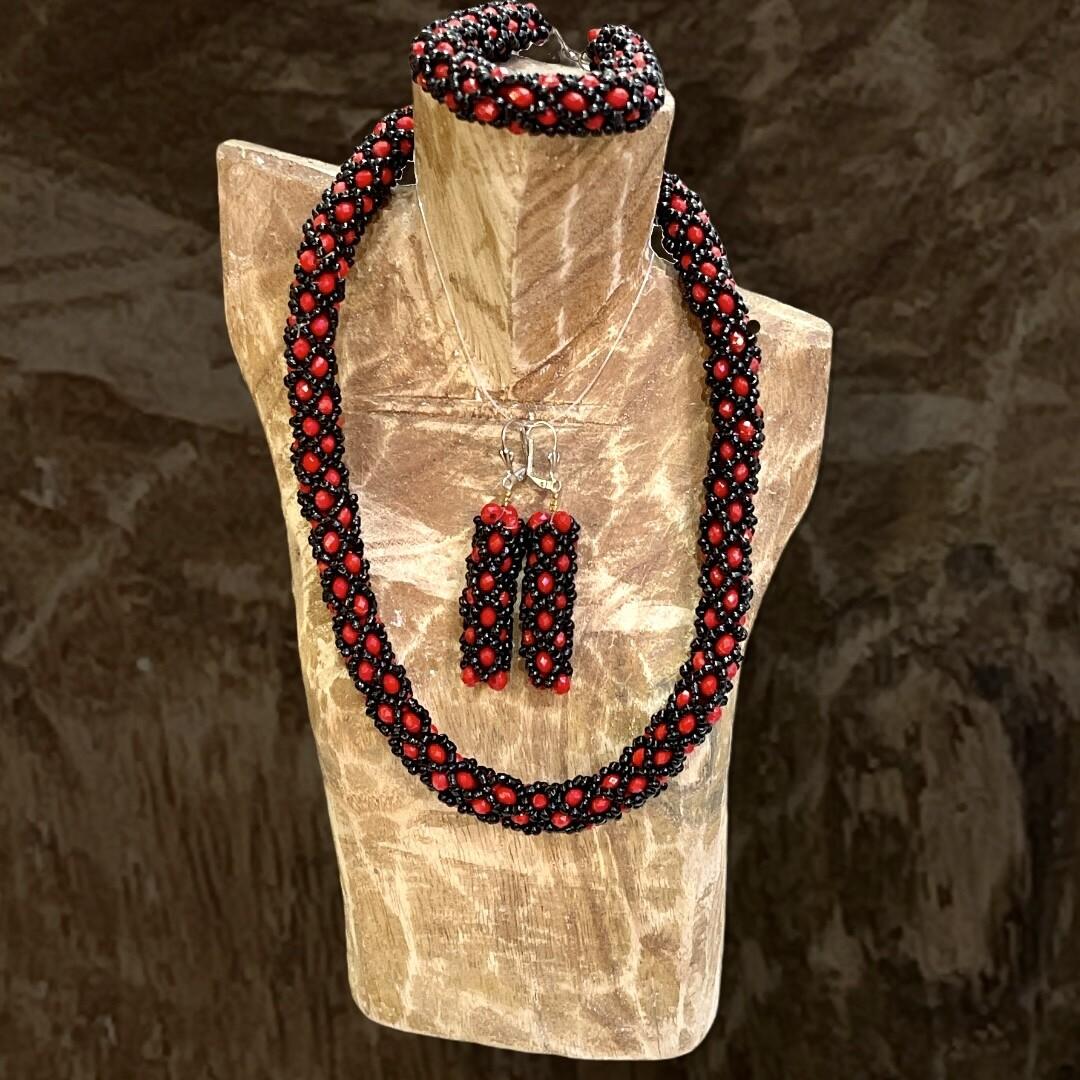 *NEW* Conjunto collar + pulsera + pendientes