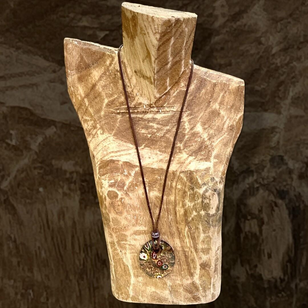 *NEW* Collar de cristalito redondo
