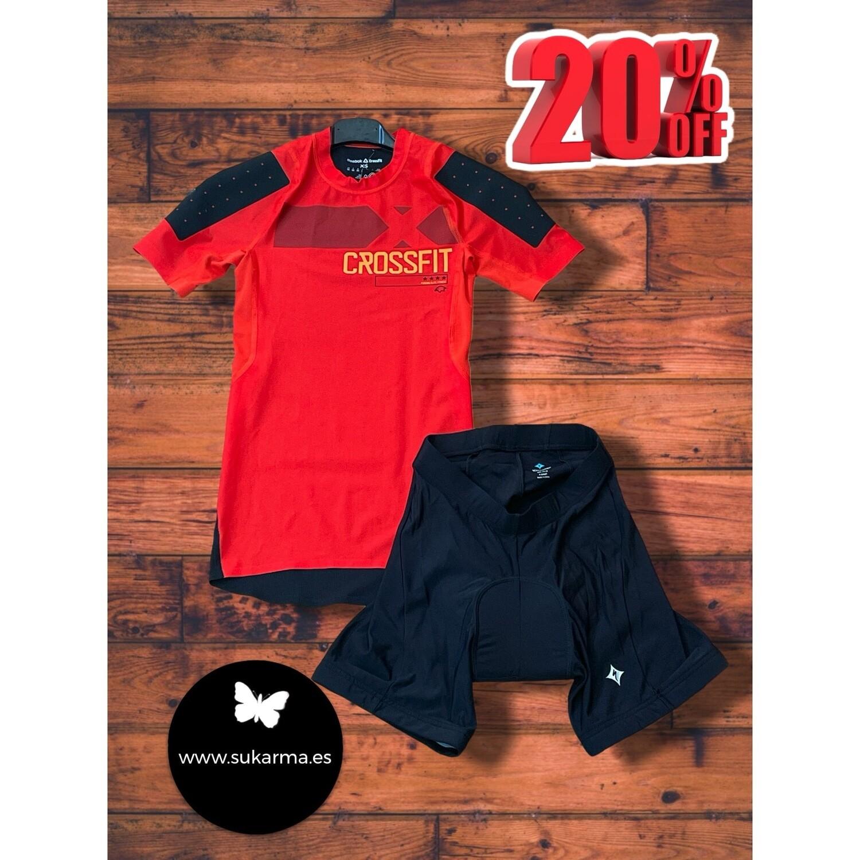 **DÚO 4** Camiseta deportiva REEBOK CROSSFIT Talla XS
