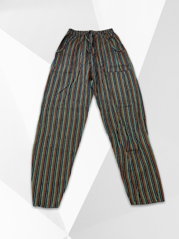Pantalón sueltito hippie rallado Talla XS