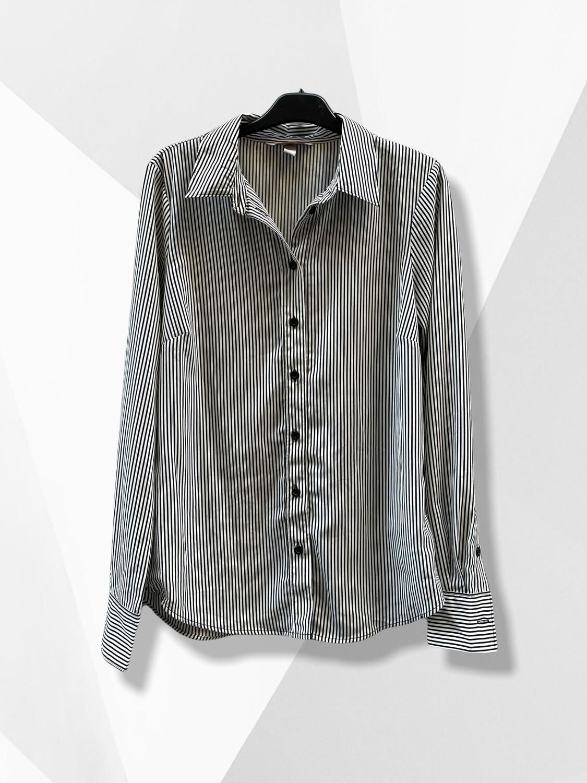 Camisa de rayitas B&W