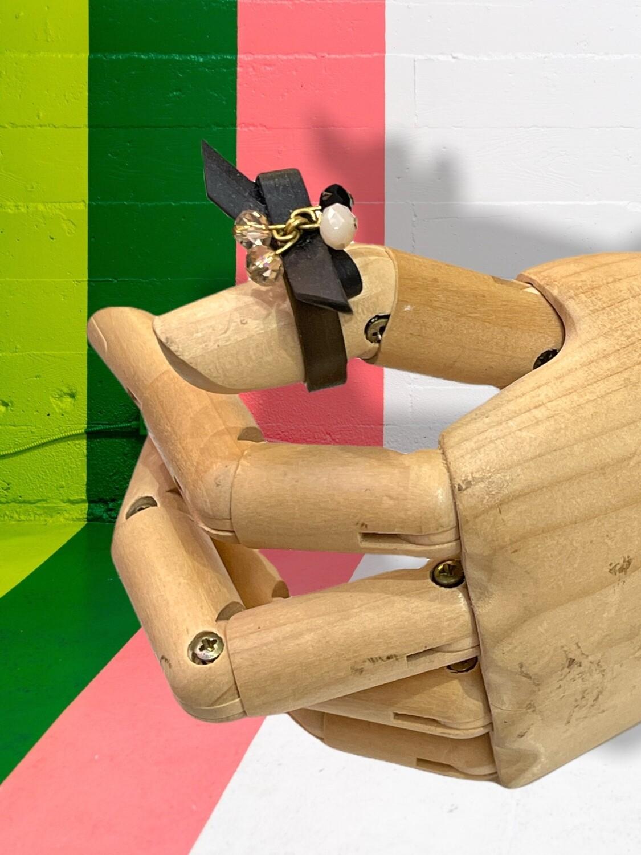 Anillo de silicona con lazo Talla 15