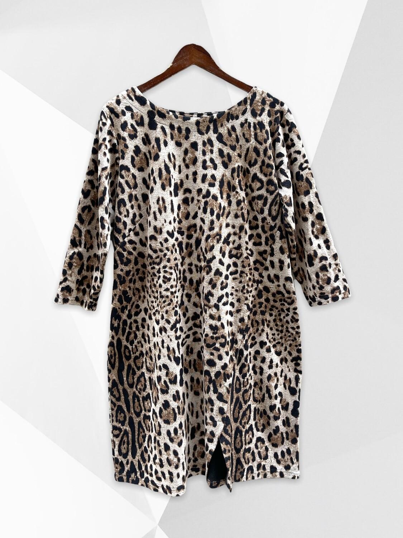 **NEW** Vestido de entretiempo animal print OPHILIA (TG)
