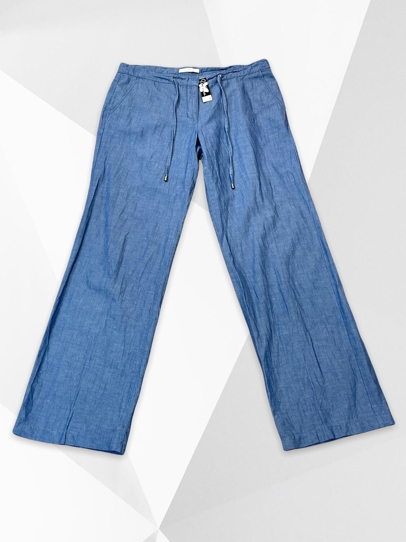 **NEW** Pantalón suelto recto de lino ESPRIT T40/42