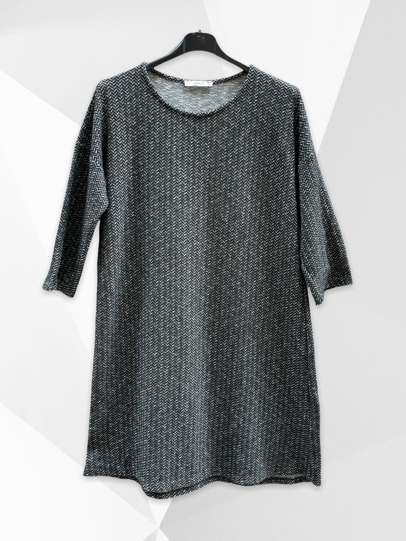 *NEW* Vestido de entretiempo/invierno con manga francesa MANGO (TG)