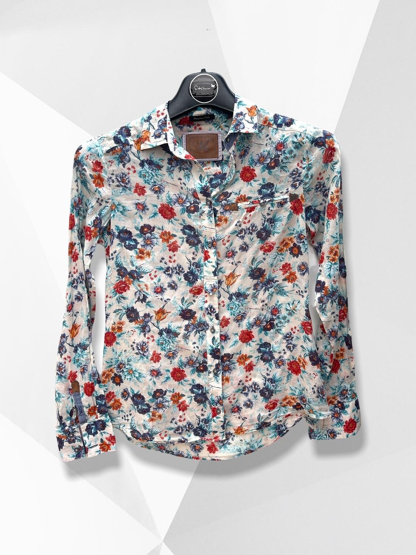 Camisa de florecitas Massimo Dutti