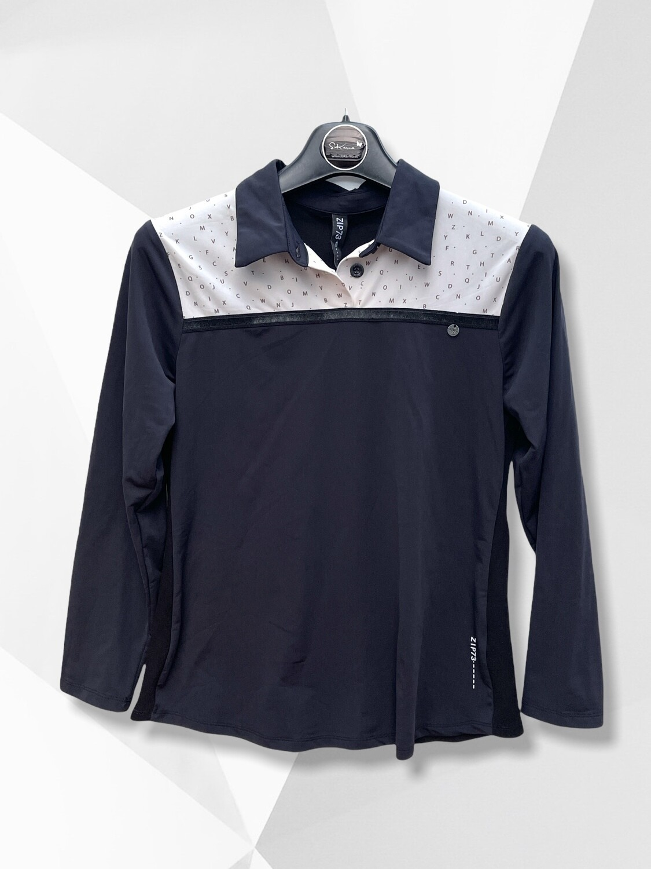 Camiseta deportiva de manga larga ZIP 73
