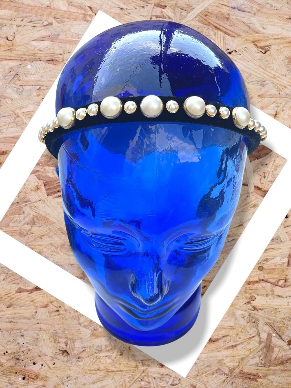 Diadema con perlas BOOHOO