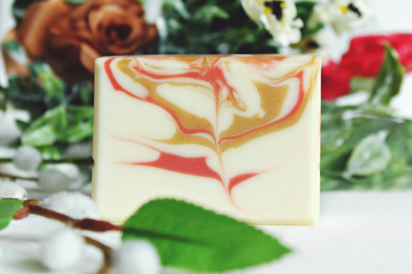 GINGER LILY superfatted local beeswax soap