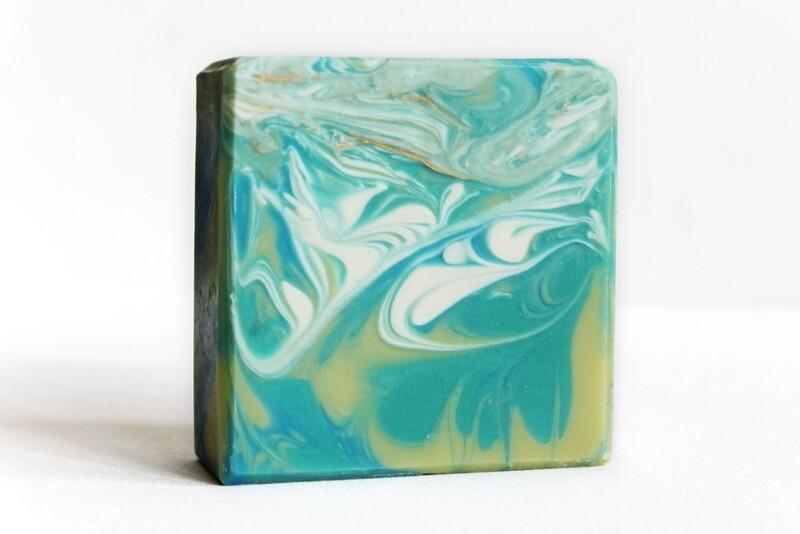 THAI COCONUT lemongrass ginger coconut soap