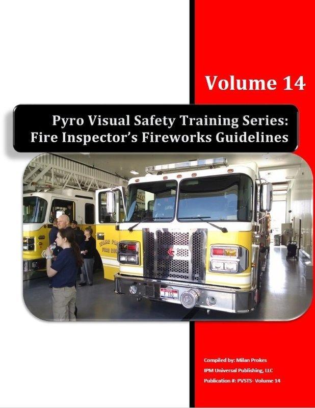 Fire Inspector's Fireworks Guidelines Vol. 14 Spiral Bound