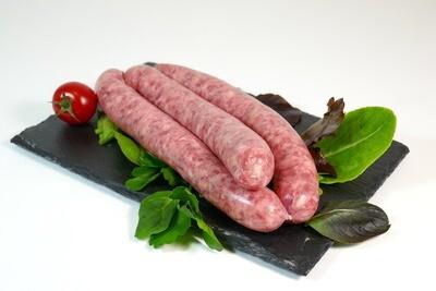 Saucisse à rôtir de porc 500gr