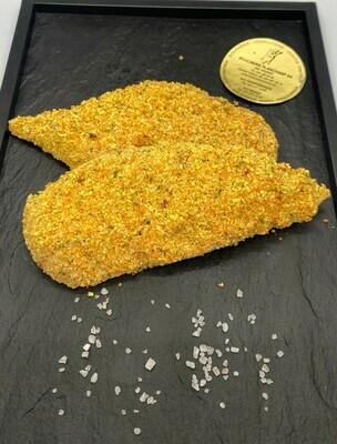 Tranche panée de poulet env. 160gr