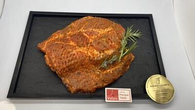 Grillade de porc dans le cou Labellisé Marque Valais