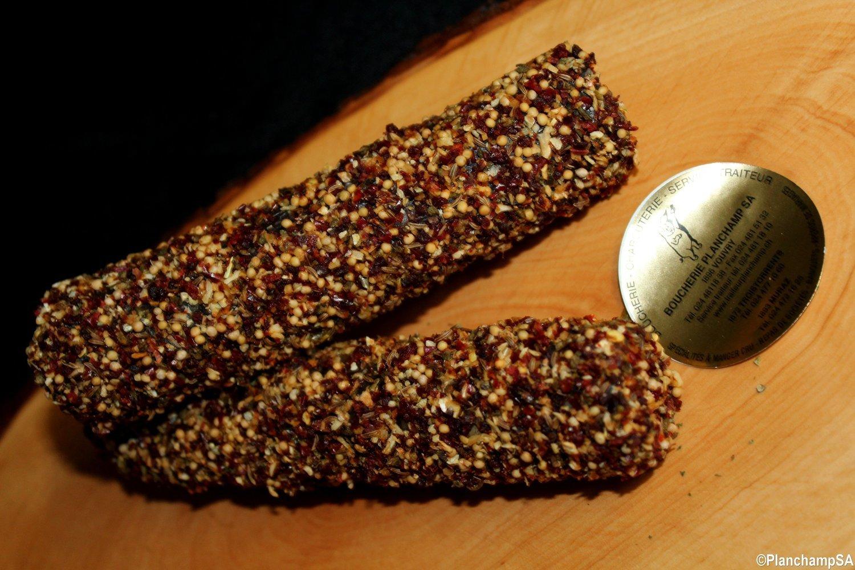Saucisse crue de boeuf aux épices