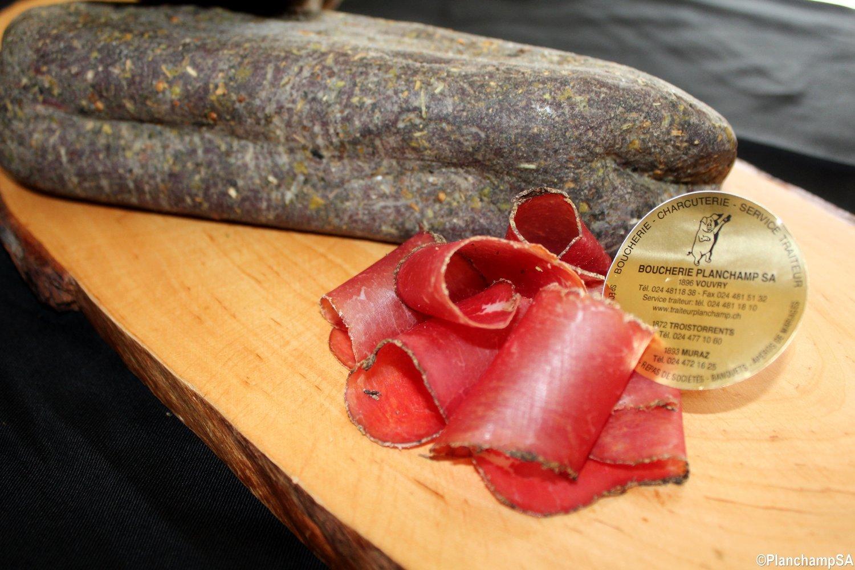 Viande séchée du Valais IGP d'Hérens COUPEE FIN 100gr
