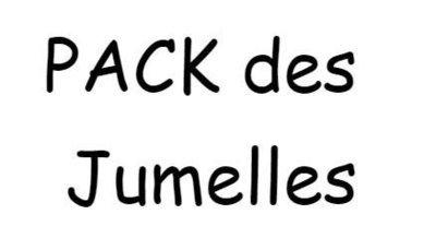 PACK des Jumelles