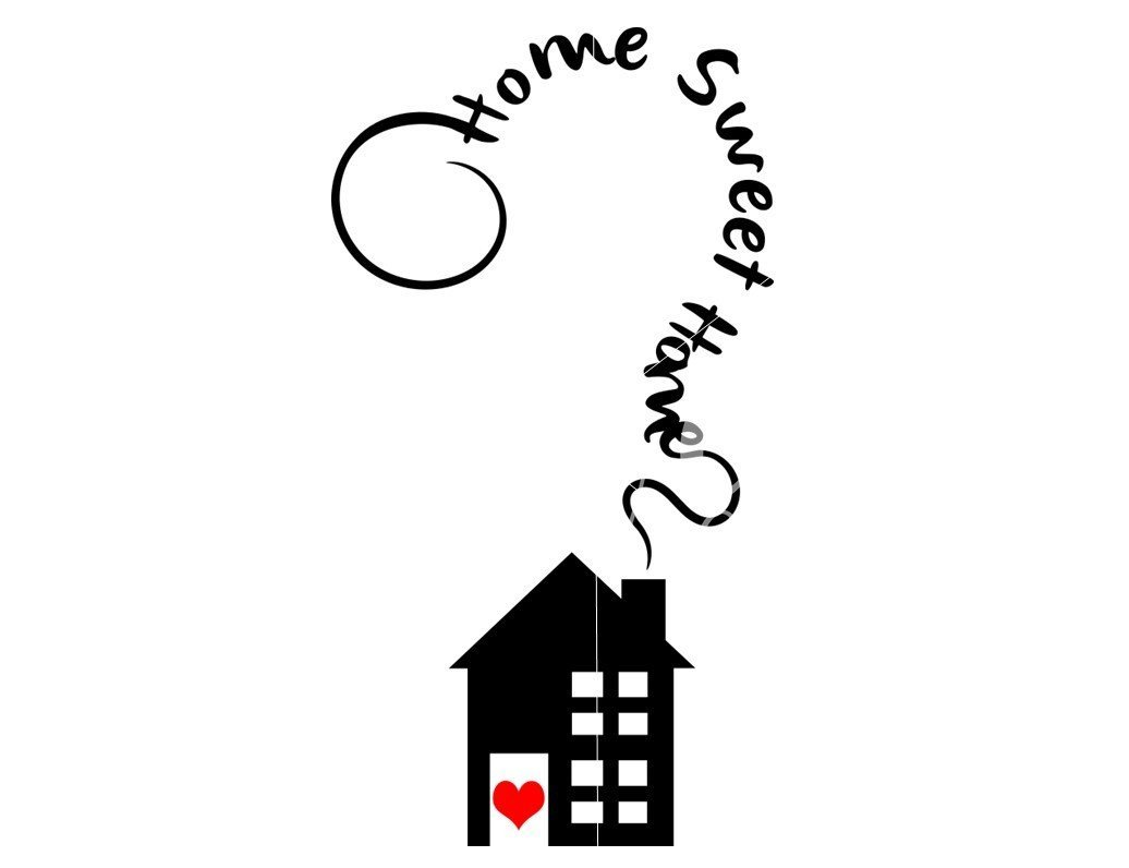 Home Sweet Home Svg Dxf Eps Png Files