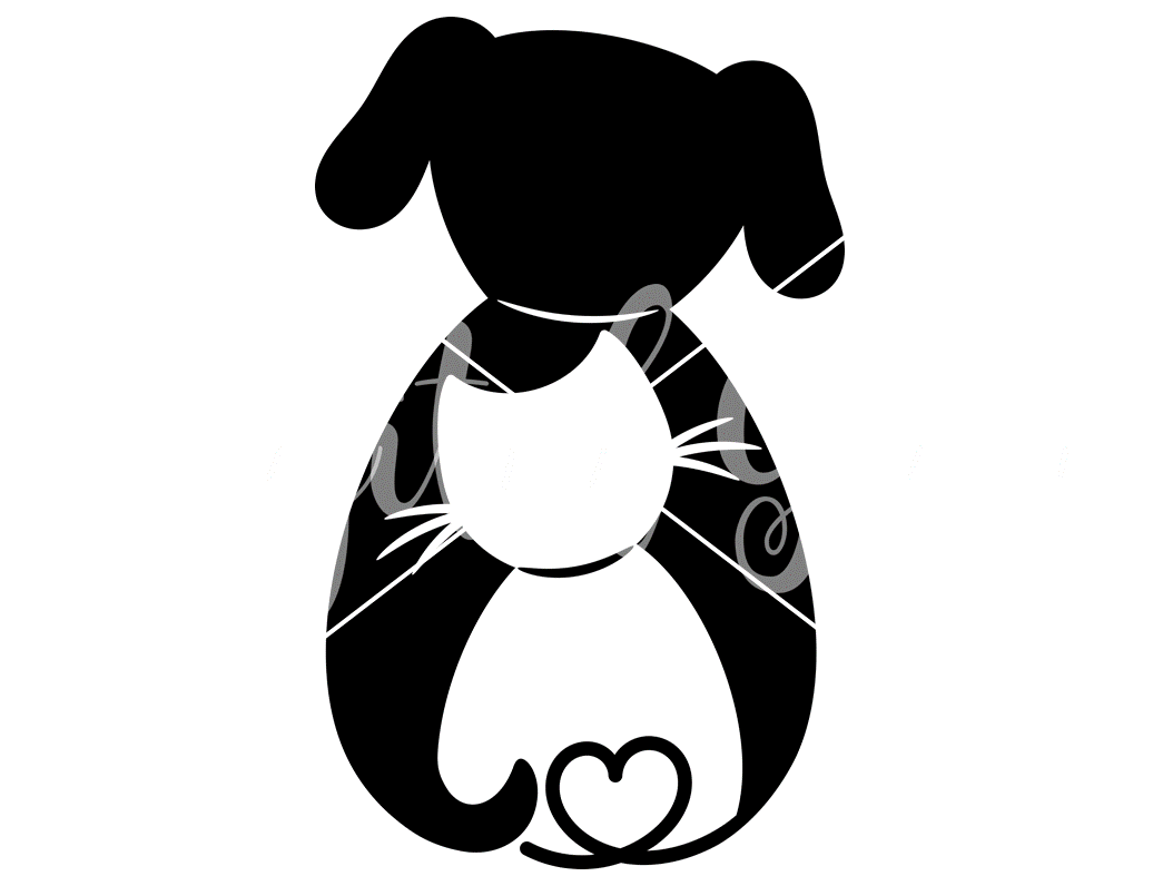 Cat And Dog Svg Dxf Eps Png Files