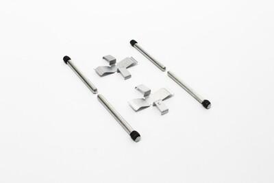 All ATE Rear Brakes, Brake Pad Retaining Pin Set
